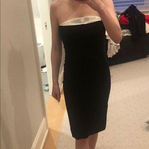Stella McCartney black midi dress, size 40
